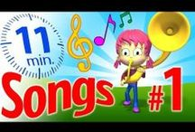 Kids ♥ Sing-Along Songs! / Happy songs for kids! These are not your regular nursery-rhyme videos! Our 3D animated songs for kids are colorful, catchy (oh, you'll see...), and totally original! Kids love them, and can learn new words while having fun. Perfect for learning English, toddlers and preschool educators. Birthday song, airplane song, train song, fire truck song and more! Let's sing-along!    / by TuTiTu