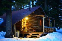 Cabin LIVING / The absolute peace & strength of a cabin....  / by rita bjelland