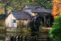 The power of Windmills & water wheels / by Val