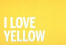 Yellow / by Em Stafrace