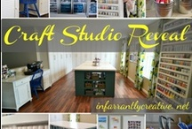 craft Room ideas / Ideas for organizing, storing and arranging a craft room. / by Jerri Giegerich