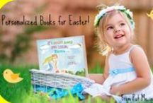 Easter Celebrations / Put Me In the Story personalized books are the perfect addition to your child's Easter basket. Take a look through our board for more ideas on how to make this Easter the best ever! / by Put Me In The Story