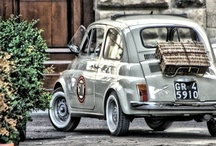 a girl can like ♡ cars too / I am the owner of a fiat 500 convertible and love all their permutations but am a girl who can get geeky about most pretty, vintage and unusual cars... / by Catherine ☆