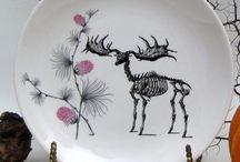 Illustrated ceramics  / by Tracy Jones
