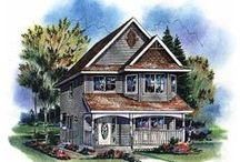 Historic Home Plans / Historical home design includes detailing and accents that make you think it's been in the neighborhood for generations. This compilation of historic house designs features the look of authentic vintage architectural house styles including English, Colonial, Victorian, Bungalow and Mediterranean influences- but with floor plans that make sense for today's lifestyles. / by COOLhouseplans.com
