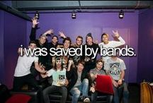 Bands :3 / by Lovatic Forever c: