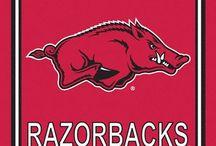 Arkansas Razorbacks / Reserved Parking / by Melony Huggler
