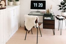 (H) Work spaces / Creative display's of inspiring work spaces. / by Shannon Garl