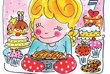 Taarten / Cakes / by Juf Tessa Borsboom