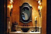 Powder Bathroom / by Tukasa Creations - Carpet, Tile and Hardwood Floors