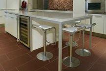 Kitchen Tile  / Kitchen tile and backsplash. / by Tukasa Creations - Carpet, Tile and Hardwood Floors