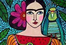Art Ed Lesson, Hispanic Heritage / by Mary Johnston