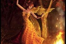 animated pictures and beautiful angels / by SoniyaNiya Verma