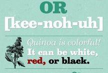 """TQI"" Quinoa Recipes / My favorite protein! / by Lynn Johanson"