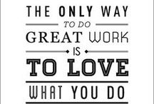 Business Inspiration / Here are some business related inspirational quotes. You can post them on your office wall for some daily company inspiration. These quotes are a great way to motivate your employees! / by EZ Corporate Clothing