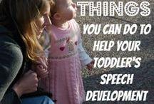 X Language Development / Stimulating language development in young children / by Julie B
