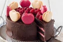 Cakes on a plate / by Rita Salvesen
