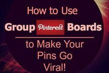 Pinterest Tips & Techniques / Helpful Instruction for using Pinterest / by Best Exercise Rebounder {Cellerciser}