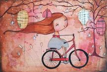 Whimsical  / Whimsical art by many of my favorite artists.  / by Heidi Morgan