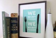 Words about food / Manchmal bekommt man schon Hunger, wenn man darüber spricht. / by Cook Eat