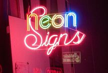 NEON signs / by Miss Dee