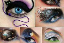 Eye and make-up designs / by Heidi Warenski