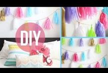 Do It Yourself! / Awesome things that I hope to do one day but am to lazy to try. xD So colorful, cute, creative, and fun! :D / by Misty the Cat