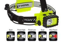 Intrinsically Safe Headlamps / Intrinsic safety (IS) is a protection technique for safe operation of electrical equipment in hazardous areas by limiting the energy available for ignition. / by Nightstick by Bayco Products, Inc.