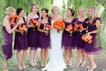 Color Me Married / Colors for Bridemaids / by Tied In A Bow