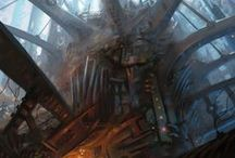 Concept Art - Architecture, Environment / by Kayla Mackey