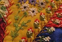 Pretty Stitches... / Embroidery Inspiration, Stitches and Patterns.... / by Kris Kouzelos