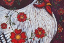 Here a Chick,  there a Chick / My inspirational Chicken Coop  / by Kris Kouzelos