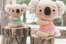 Dolls + animals (crochet / knit) / Ideas for crocheting amigurumi and other dolls, as well as animals / by Christine