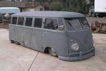 V Dubs Air-cooled era / VW / by Dean Mullins