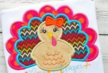 THANKSGIVING EMBROIDERY DESIGNS / Digital Machine Embroidery and Applique Designs; www.creativeappliques.com FACEBOOK: www.facebook.com/creativeappliques / by Creative Appliques