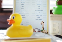 Rubber Duckie Baby Shower / Nothing says baby like a yellow rubber ducky! So many fun things you can do with a vibrant yellow theme. / by Funsational
