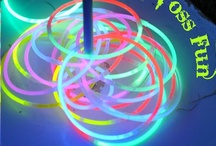 Glow in the Dark Halloween Party / With so many glow in the dark products available, all you need to add is a fog machine, games, and a few edible glow in the dark sweets...voila! Perfect Halloween Party. / by Funsational