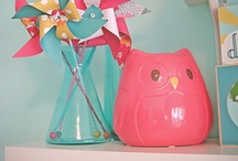 Owl Themed Baby Shower in Hot Pink & Green / by Funsational