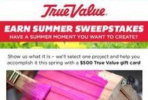 Earn Summer / by True Value
