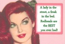 RED HOT REDHEADS !!! / Hello ..Once again the images seen here were and are freely shared all over the web. Several Pinterest pages have the exact same images. The majority of the art work was done by a Great artist, Gil Elvgren. Threats, abuse, lies and bullying is NEVER acceptable behavior and will be reported to the Police. Thank you ALL for the support and Likes. :) / by Maureen