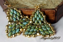 Beading - Tila, Twins and Super Duo / by Linda Yatchman