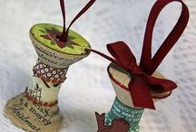 Recycled Ornaments / by Follow Me Farm