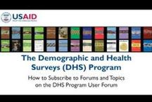 DHS Original Videos / Find all of our videos on our youtube channel: http://www.youtube.com/user/DHSprogram / by DHS Program