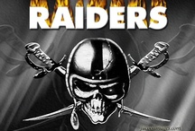 Oakland Raiders / Can't help being a die-hard fan. / by Carol McCabe