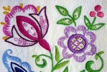 Embroidery pictures / by anne rout