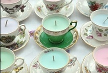 Tea cups & saucers / by Linda McGowan