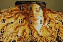 Exterior Wall & Building Art / by Brookshire's Arts