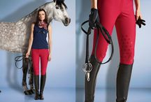 Equestrian Fashion / Some breeches, boots, show jackets, etc. for equestrians.  / by Piper Hayes