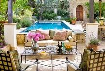 Outdoor Room Design / by Kimberly Bridges Interiors