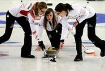 Curling / Somewhere behind the athlete , behind the hours of practice, and the coaches who have pushed her, is a little girl who fell in love with the game and never looked back...  / by Ally Harrison